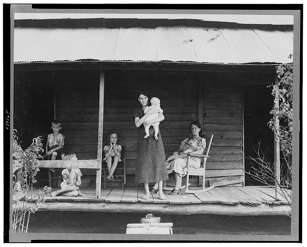 Close-up photos of sharecroppers in rural Georgia in 1937 ...