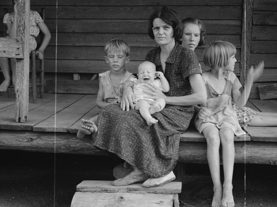 Cotton sharecropper family. Macon County, Georgia2 1937 lange