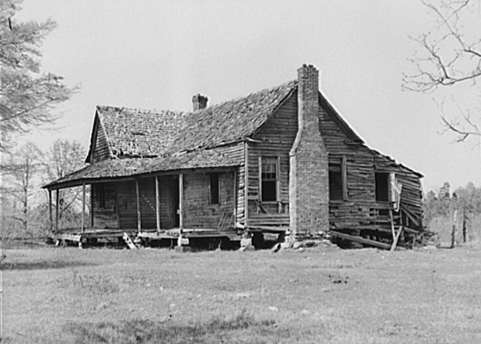 Deserted home. Greene County, Georgia 1939