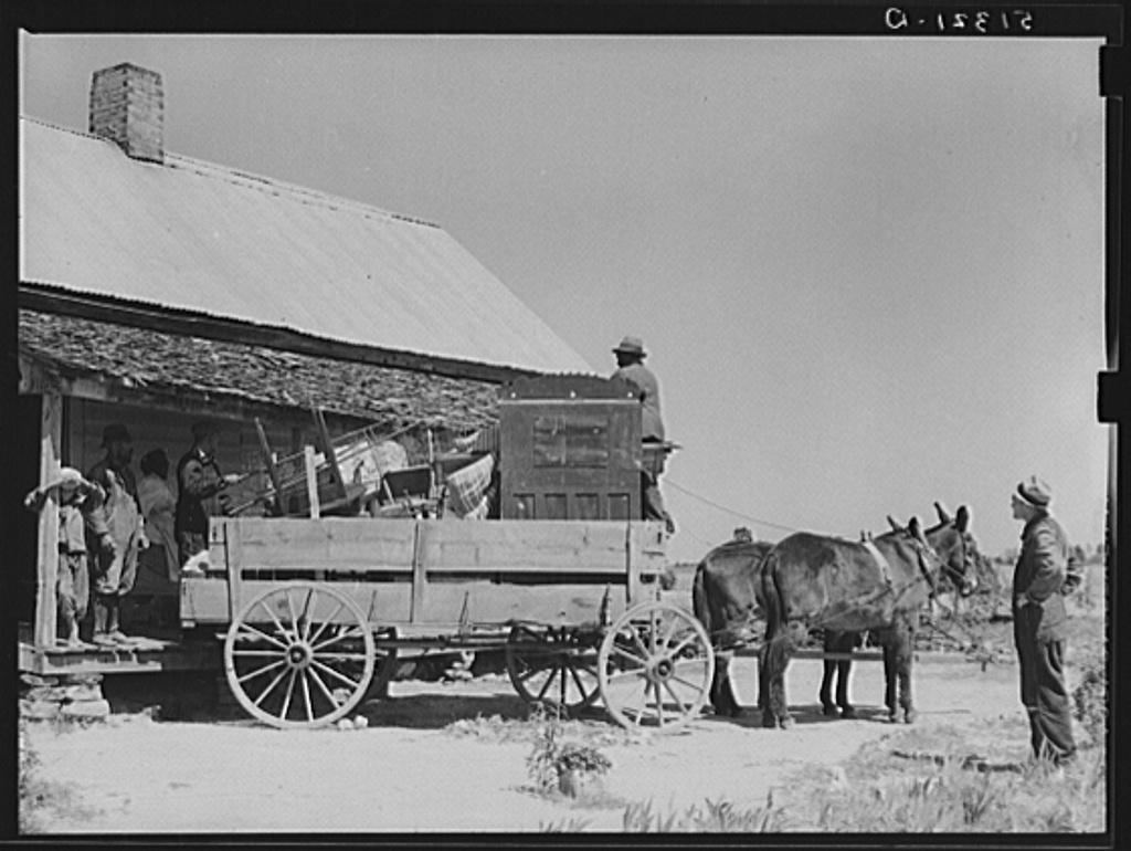 A Glimpse Of Rural Life In Georgia In 1939 Times Were