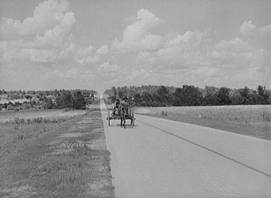 Highway near Greensboro, Georgia may 1939