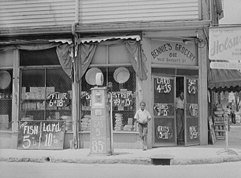 Negro grocery store. Sylvania, Georgia jun 1939