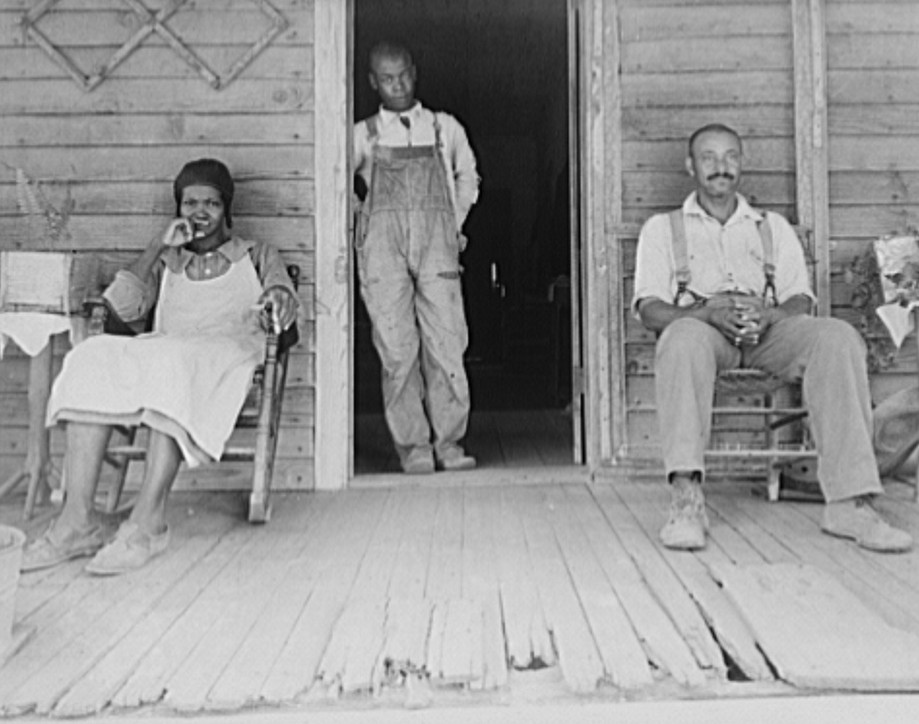 Negroes who own land in Greene County, Georgia 1937 dorothea lange