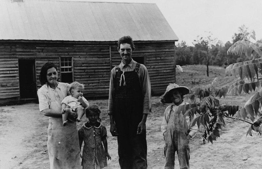 Rehabilitation borrower's family, Greene County, Georgia 1939