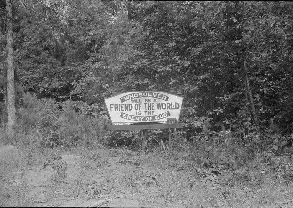 Religious sign georgia