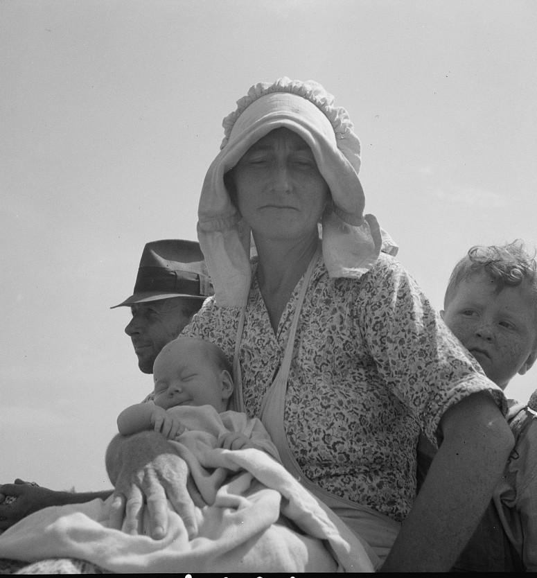 Sharecropper family near Hazlehurst, Georgia2 1937 lange