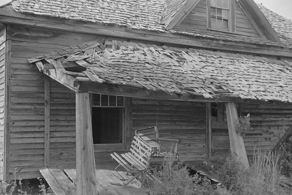 Sharecropper's home, Greene County, Georgia 1939