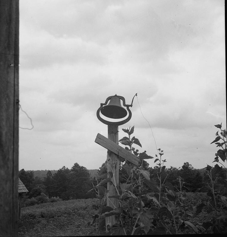The old plantation bell. Greene County, Georgia dorothea lange 1937