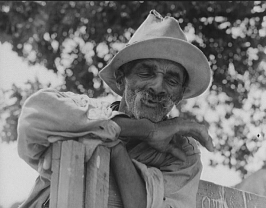 This man was born a slave in Greene County, Georgia 1937 dorothea lange