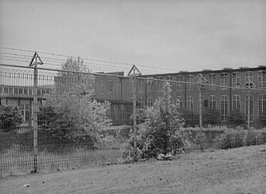 Can you believe that a cotton mill outside Atlanta had a 'tornado' fence?