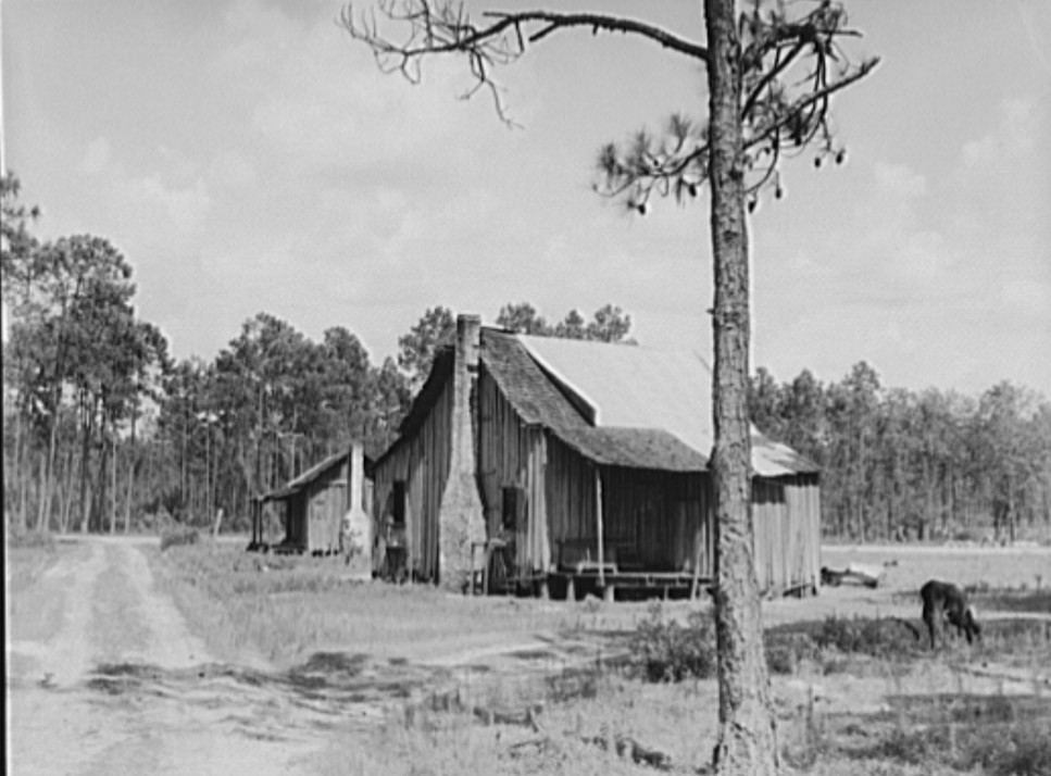 Valdosta, Georgia Turpentine workers home July 1937 by Dorothea Lange