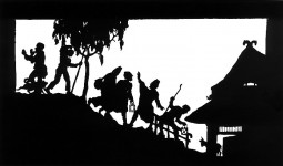 Silhouettes, an art form that has been around for ages
