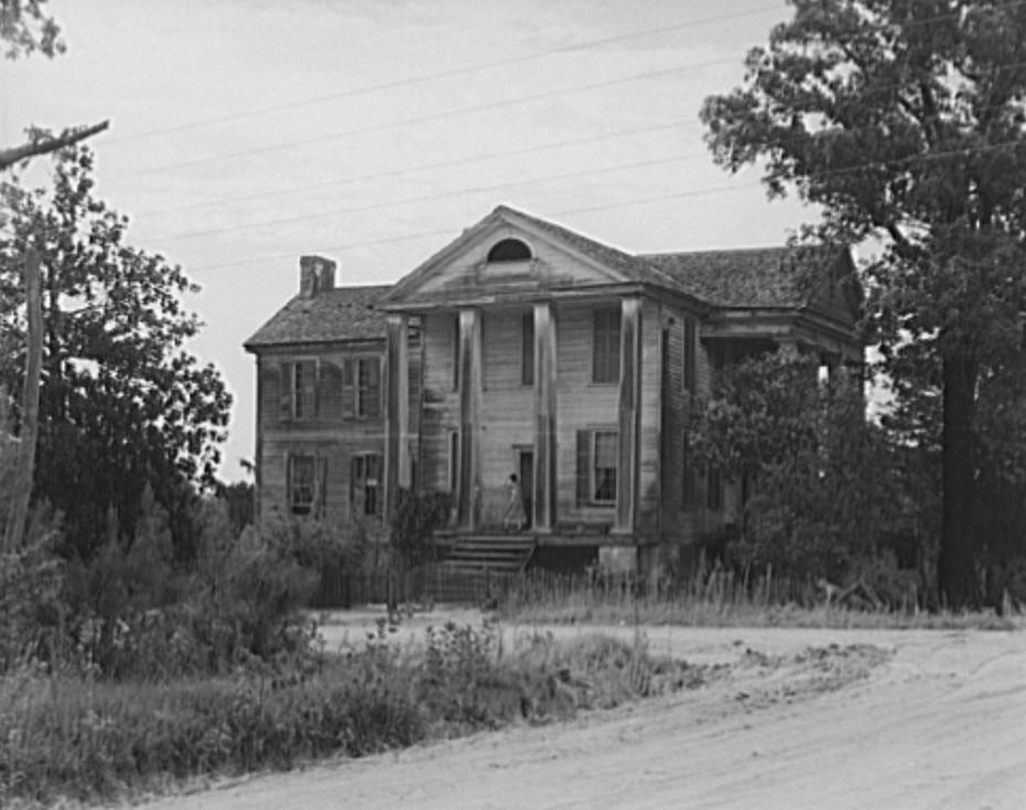 antebellum mansion Greene county dorothea lange