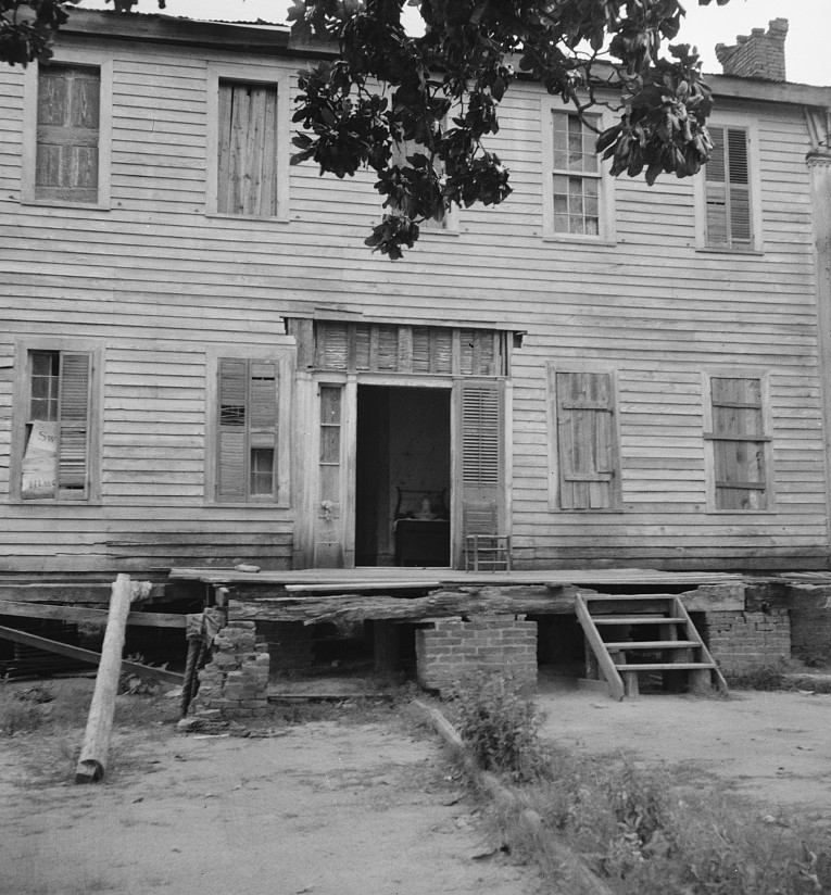antebellum mansion Greene county5 dorothea lange