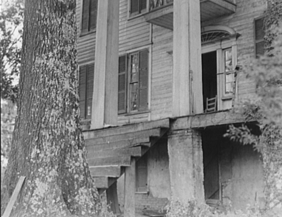 antebellum mansion2 Greene county dorothea lange