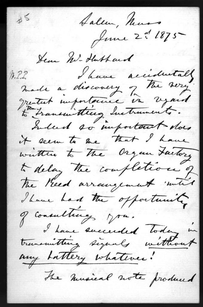 bell letter 1875