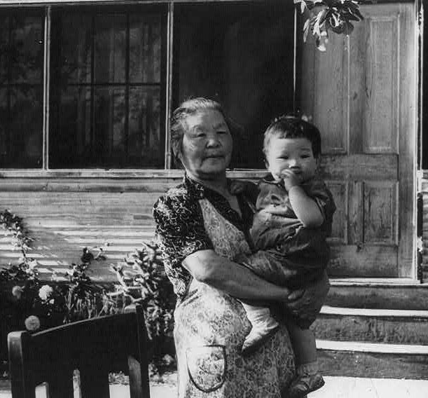 grandmother before transfer