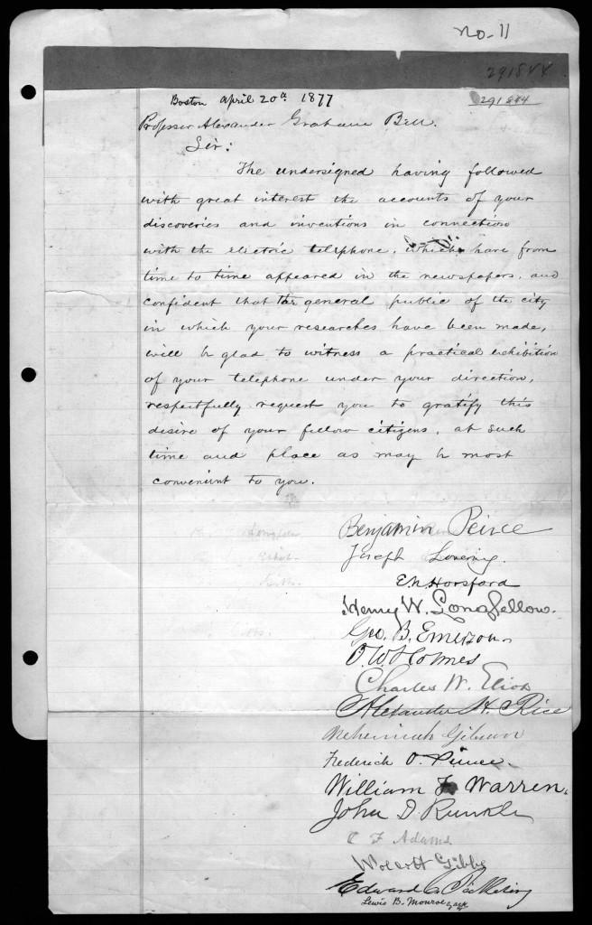 letter alexander graham bell