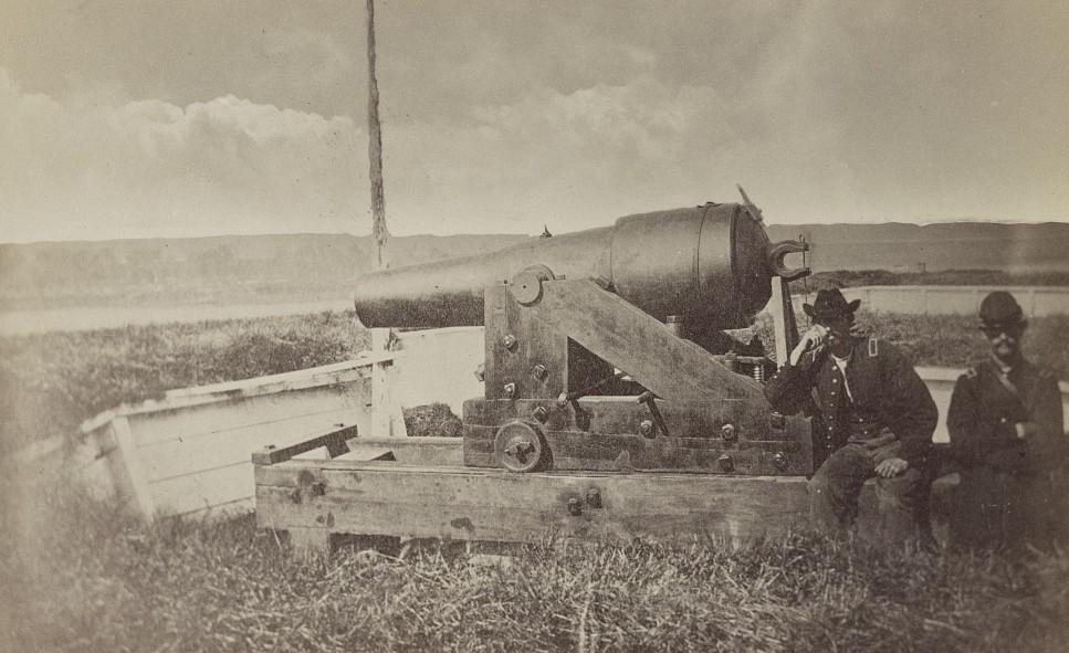 vicksburg Confederate gun Whistling Dick, Vicksburg, Miss 1861