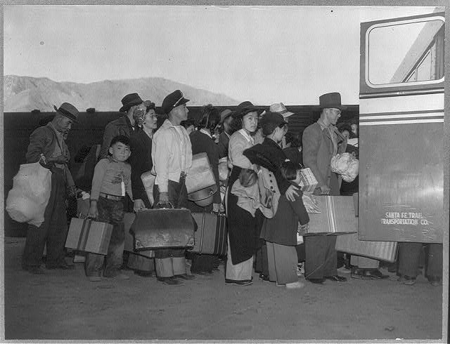 an examination of the use of japanese internment camps during world war ii During world war ii the united states government conscripted japanese american internees into the army after forcing them into internment camps on suspicion of.