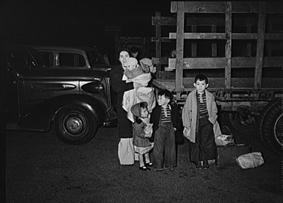 train The evacuation of Japanese-Americans from West coast areas under United States Army war emergency order4