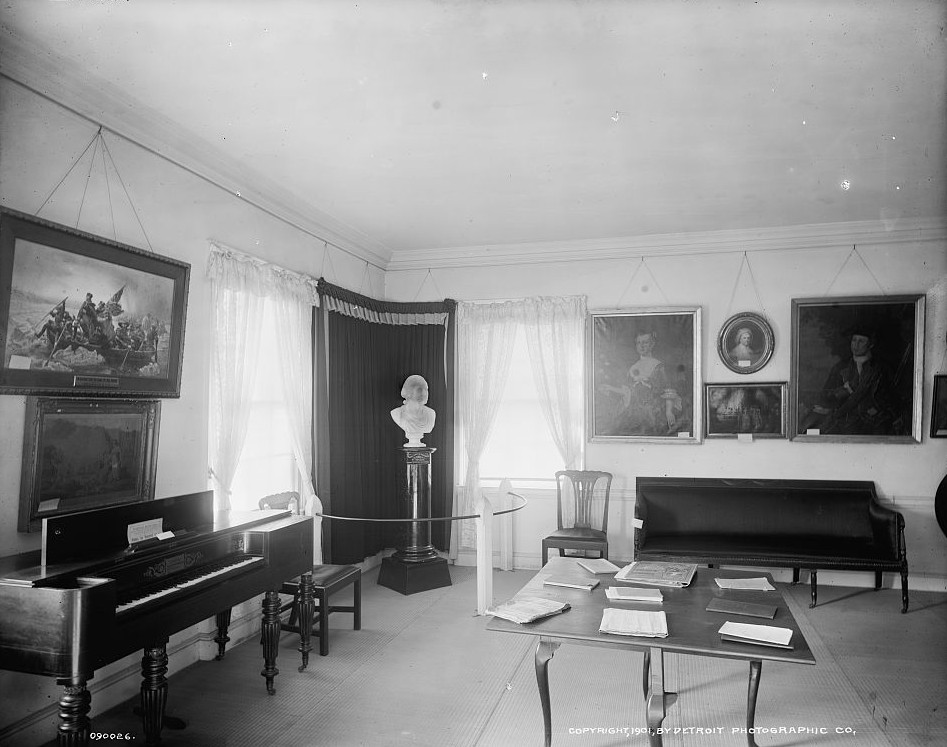 A Room, Washington's headquarters Ford Mansion, Morristown, N.J