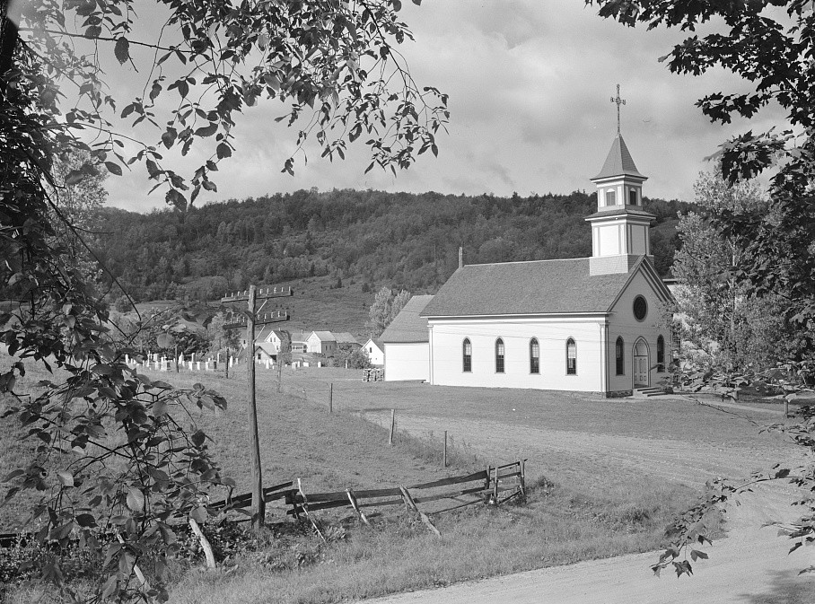 Church at Lowell, Vermont