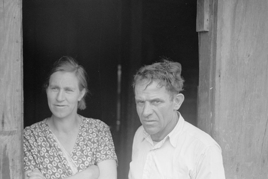 Coal miner and wife, Kempton, West Virginia