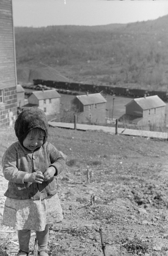 Coal miner's daughter in company town, Kempton, West Virginia
