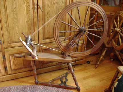 French Canadian Spinning Wheel