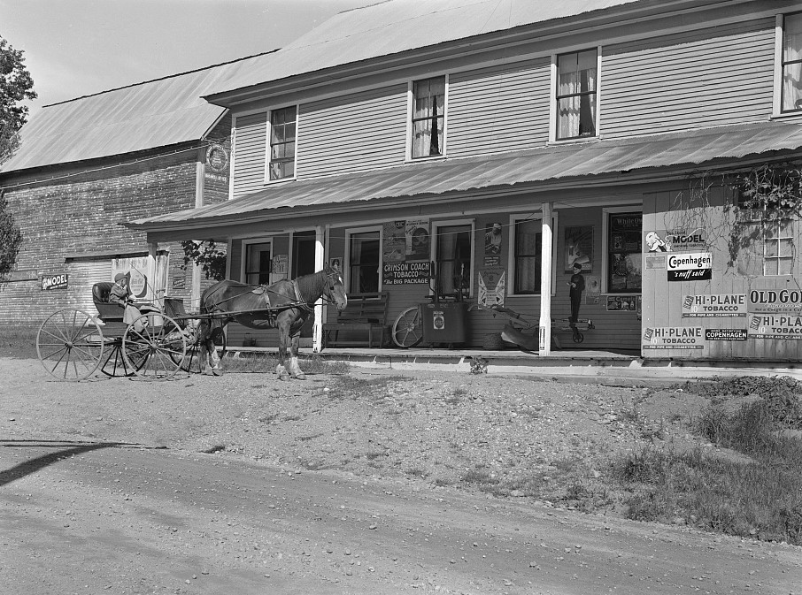 General Store, Lowell, Vermont