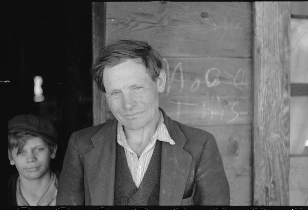 George Blizzard, coal miner in Kempton, West Virginia