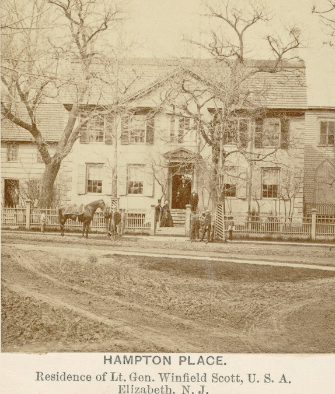 Hampton Place. by photographer McAllister & Brothers 1862