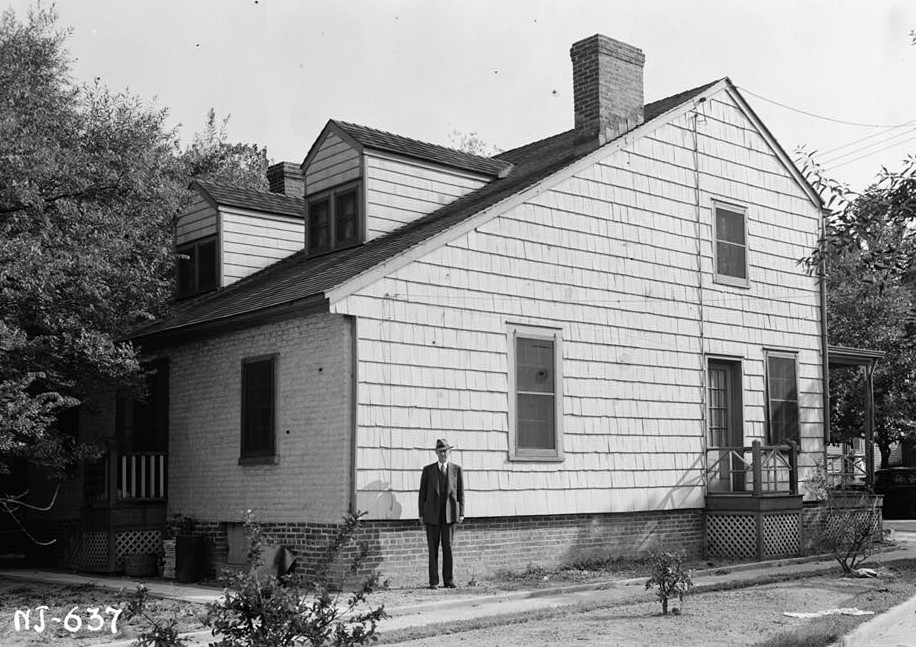 Kearny Cottage Exterior view from west
