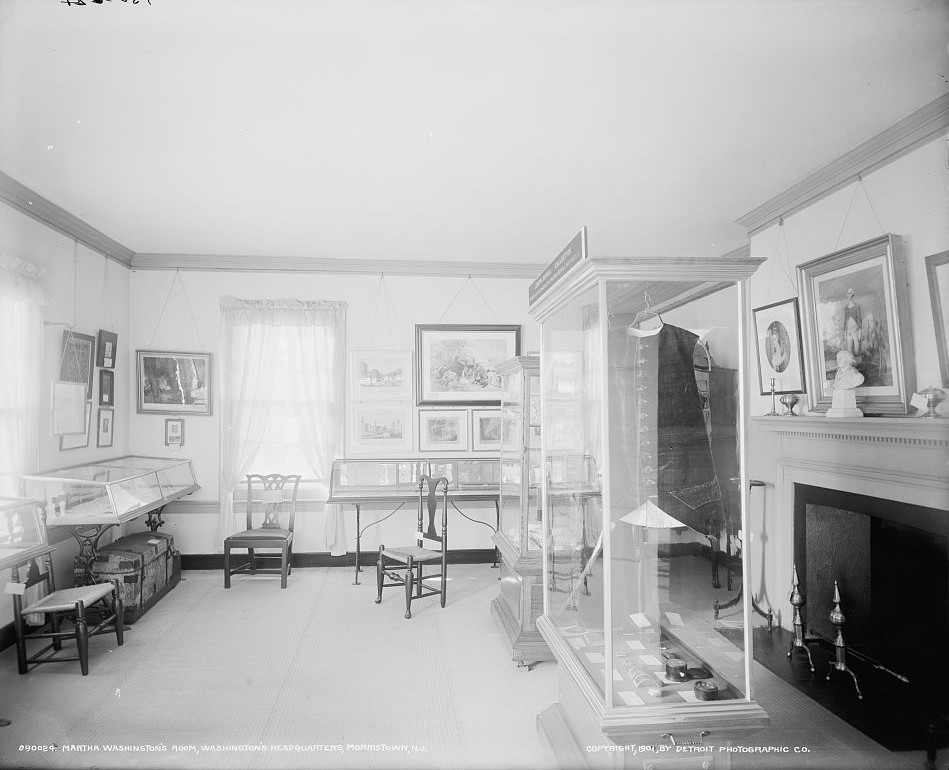 Martha Washington's room, Washington's headquarters Ford Mansion, Morristown, N.J