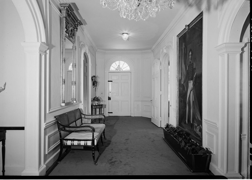 Morven view of main hall from the west 1964 by photographer Jack E. Boucher