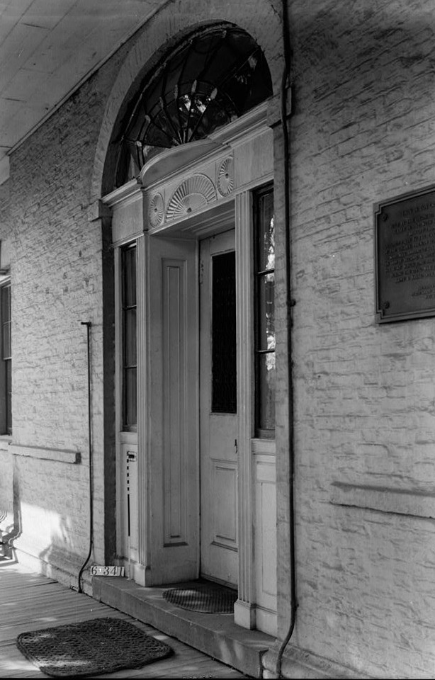 Nathaniel R. Ewan, Photographer October 16, 1936 Exterior Front door- Governor's House,