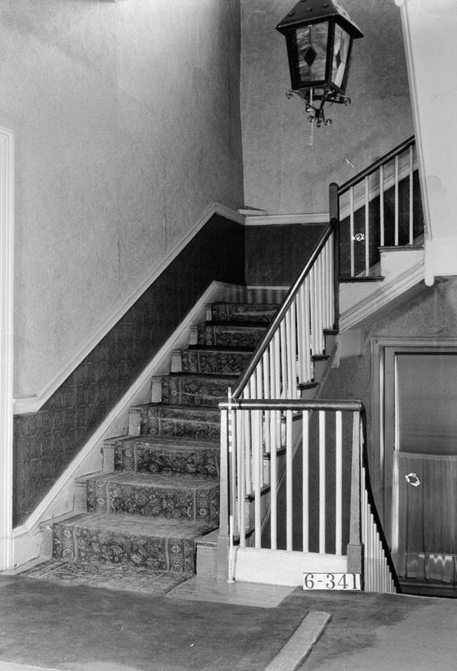 Nathaniel R. Ewan, Photographer October 16, 1936 second floor stair