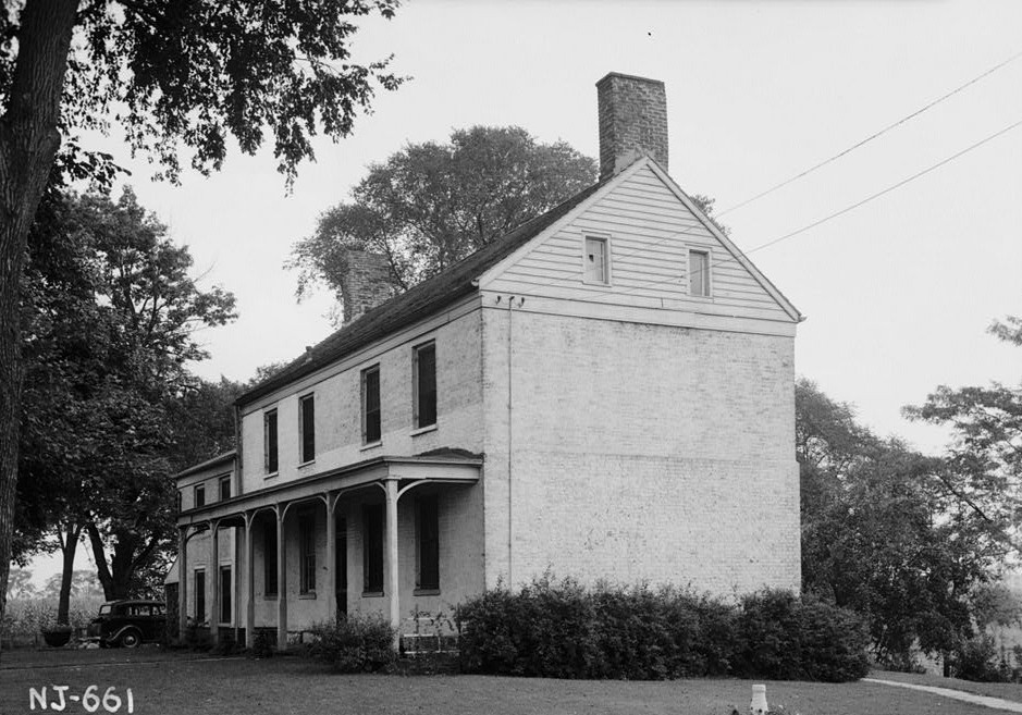 R. Merritt Lacey, Photographer September 9, 1940 Exterior - Van Veghten House, Finderne, Somerset County, NJ