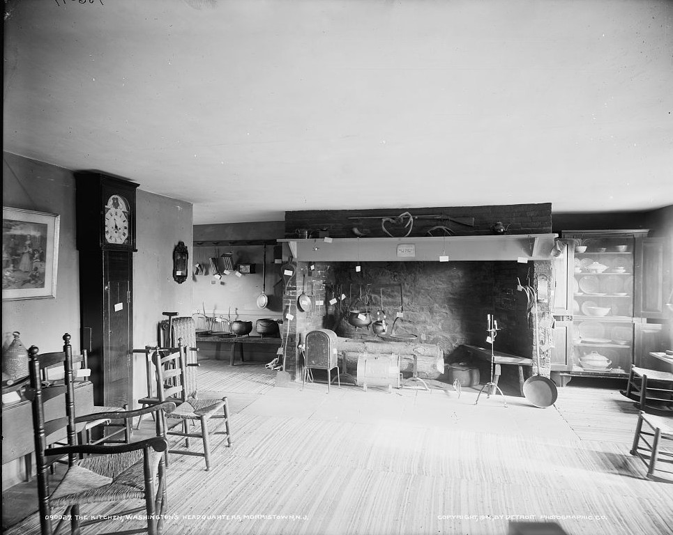 The Kitchen, Washington's headquarters Ford Mansion, Morristown, N.J.