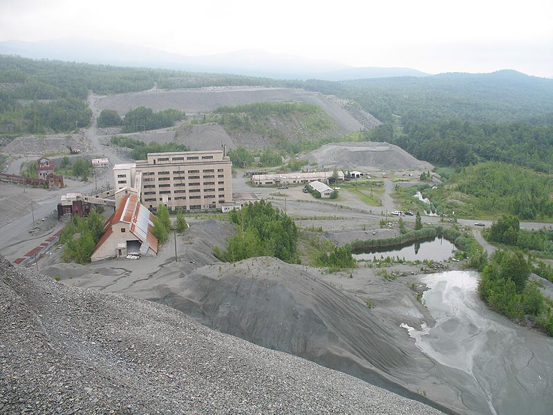 Vermont Asbestos Group Mine in Eden & Lowell, Vermont