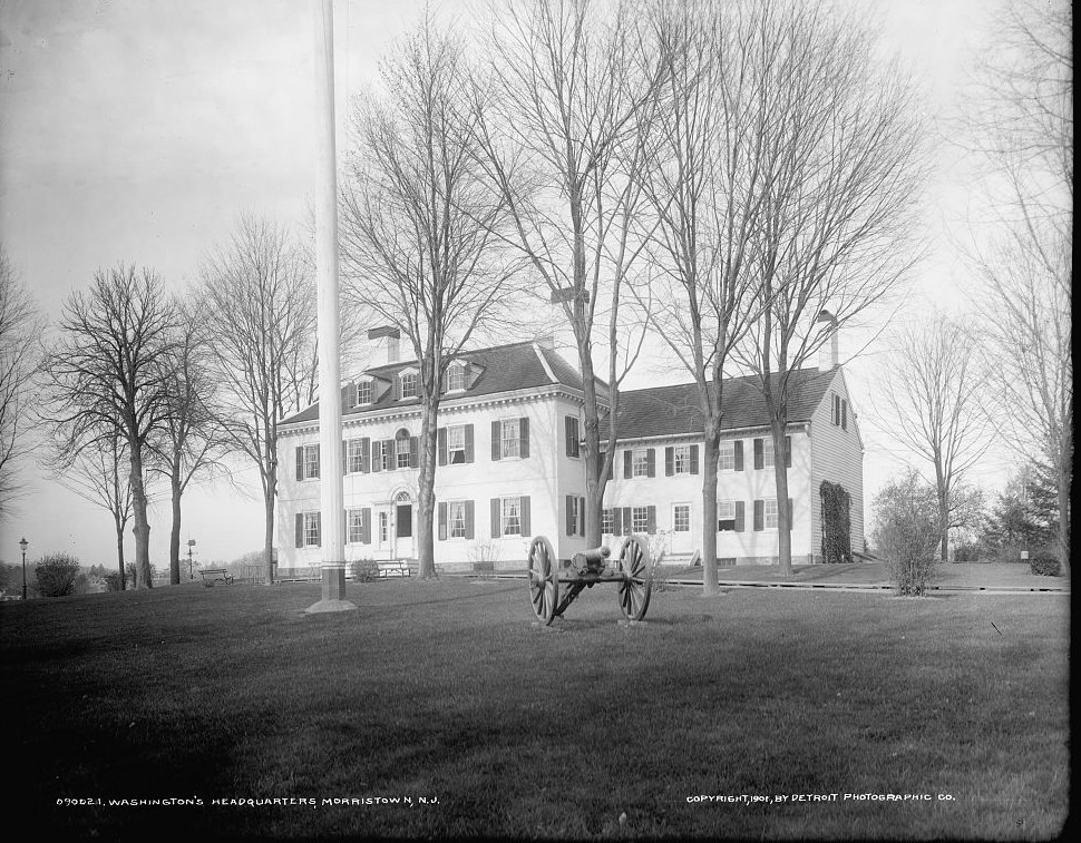 Washington's headquarters - Ford Mansion, Morristown, N.J.