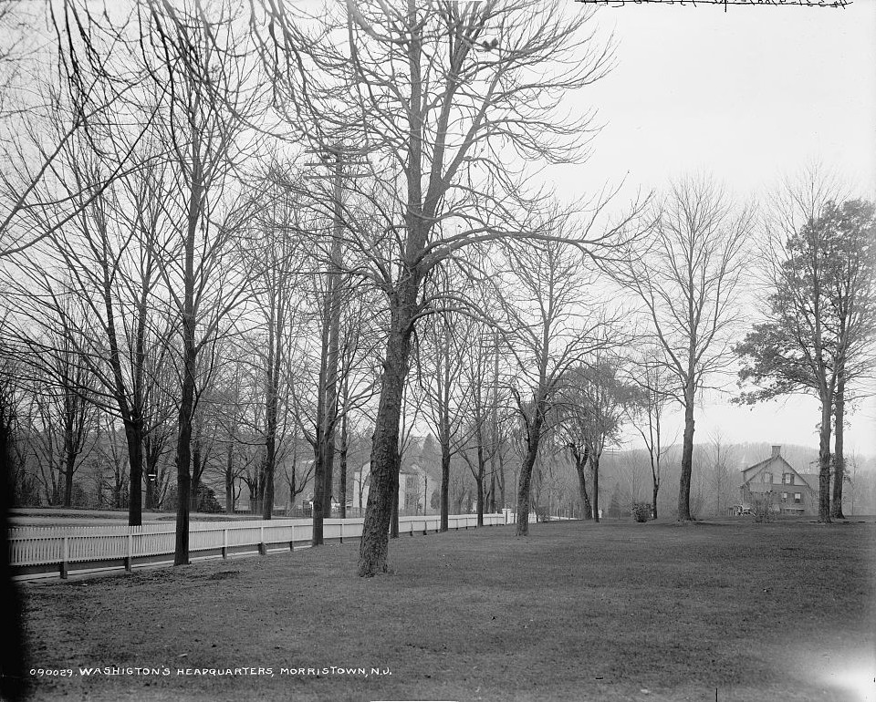 Washington's headquarters view Ford Mansion, Morristown, N.J.