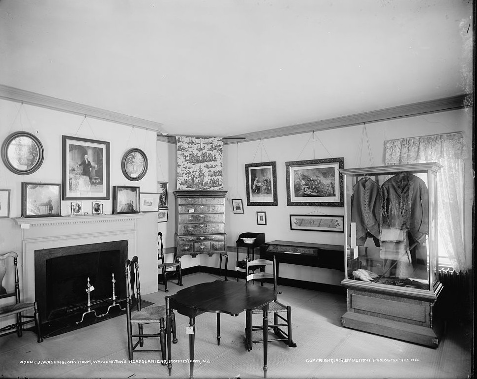Washington's room, Washington's headquarters Ford Mansion, Morristown, N.J. 1901