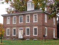 Bloomsbury Court – where the founder lived is the oldest house in Trenton, New Jersey