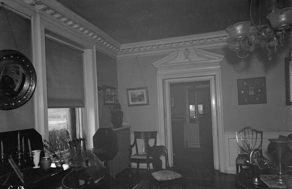 belcher mansion hall drawing room