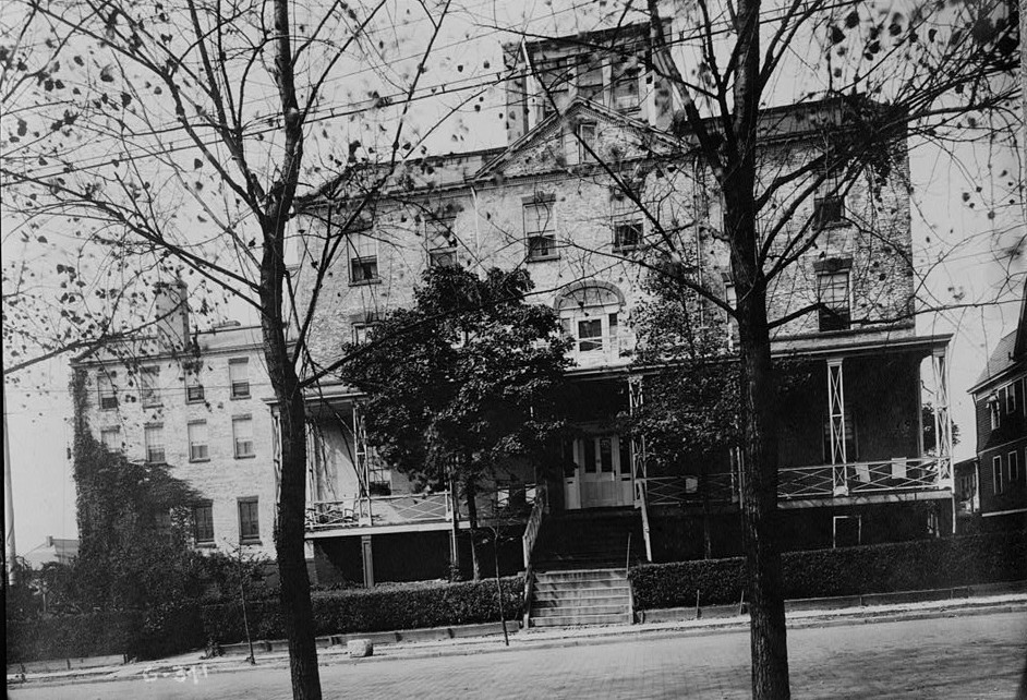 franklin place from old photograph