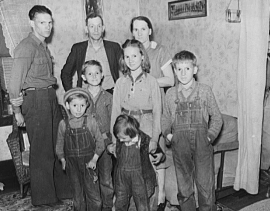 oal miner and family, residents of company town. Kempton, West Virginia