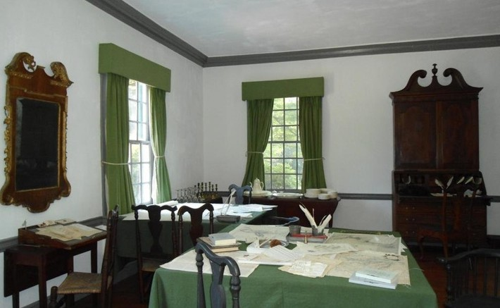 washington's study