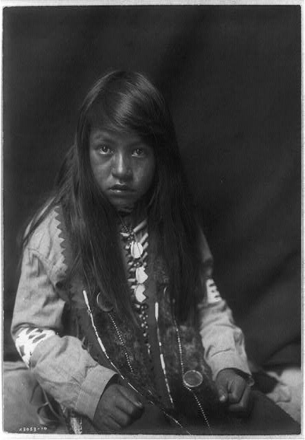 A Yakama Boy by Edward S. Curtis ca. 1903